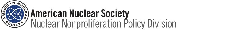Nonproliferation Policy Division